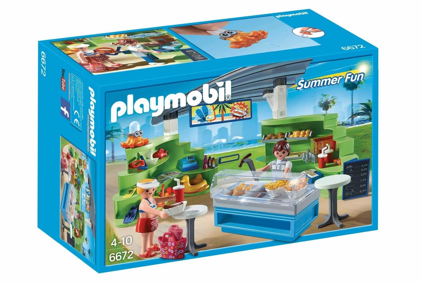 Playmobil 6672 Splish Splash Caf De Playa Y M S Brico