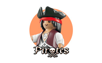 Pirates: sets de barcos y piratas