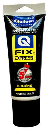 Adhesivo de montaje Fix Express, multimateriales, 250 g, Quilosa