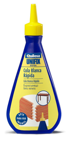 Biberón cola blanca rápida UNIFIX de Quilosa
