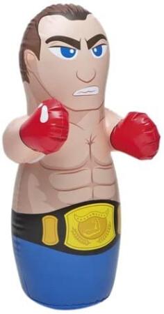 Muñeco boxeo hinchable infantil, 86 x 51 cm. Intex 44672