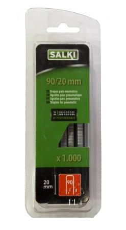 Grapas en blíster 90/20 mm de Salki 86919020