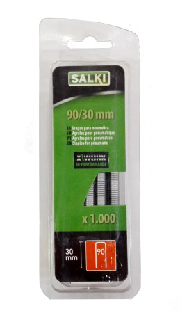 Grapas en blister 90/30 mm de Salki 86919030