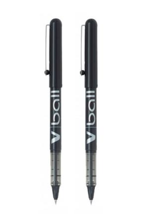 Blíster de 2 bolígrafos Vball de Pilot color negro