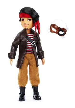 Bratz Boyz muñeco masquerade Brogan pirata de MGA