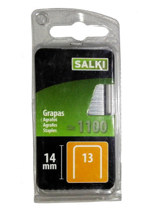 Grapas en blister 13/14 mm de Salki 86801314