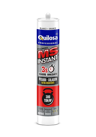 MS Instant, cartucho, agarre inmediato, 280 ml, Quilosa