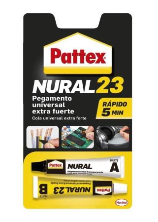 Pegamento universal Nural 23, dos aplicadores, 22 ml, Pattex