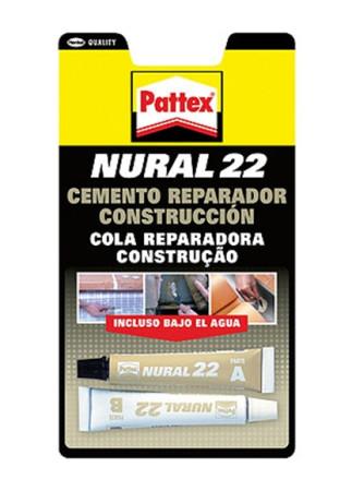 Cemento reparador Nural 22, dos aplicadores, 22 ml, Pattex 1548587