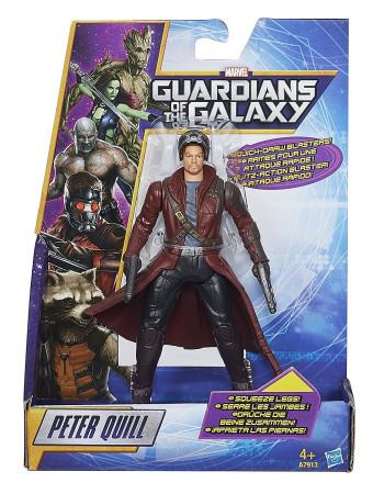 Figura Peter Quill de Guardianes de la Galaxia, Hasbro