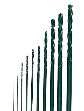 Set de 10 brocas de acero de corte superrápido de Proxxon