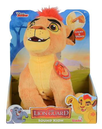 Peluche interactivo de Kion de La Guardia del León de Simba