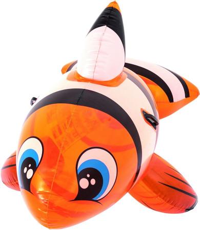 Flotador pez payaso hinchable de 160 cm de Bestway