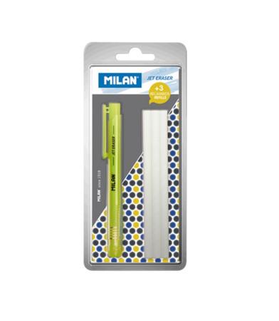 Portagomas con recambios de Milan