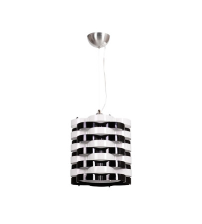 Lámpara de techo serie Ondays, color blanco, de Fabrilamp