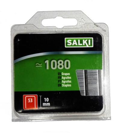 Grapas en blister 53/10 mm de Salki 86805310
