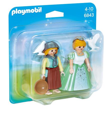 Duo pack de princesa y granjera de Playmobil