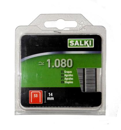 Grapas de blister 53/14 mm de Salki 86805314
