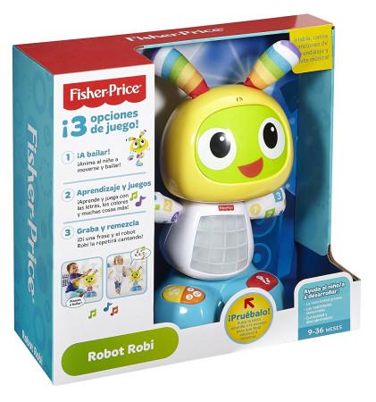 Robot Interactivo Robi De Fisher Price Brico Reyes