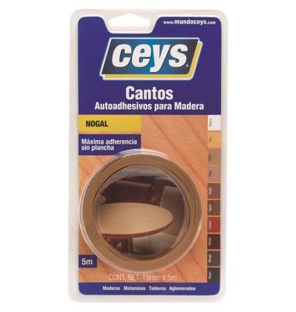 Cantos autoadhesivos para madera, color nogal, de Ceys
