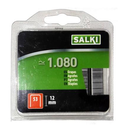 Grapas en blister 53/12 mm de Salki 86805312