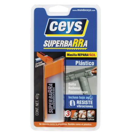 Superbarra reparadora plásticos de Ceys