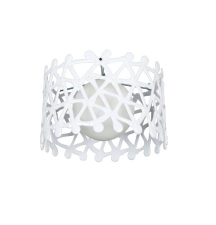 Lámpara colgante de techo, serie Olinda, color blanco, de Fabrilamp