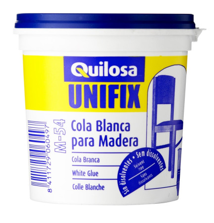 Cola blanca para madera Unifix M-54, 1 kg de Quilosa
