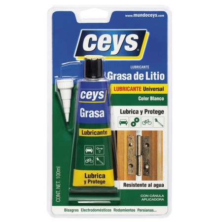 Grasa de litio doble efecto color blanco de Ceys