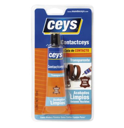 Cola de contacto Contactceys transparente de Ceys