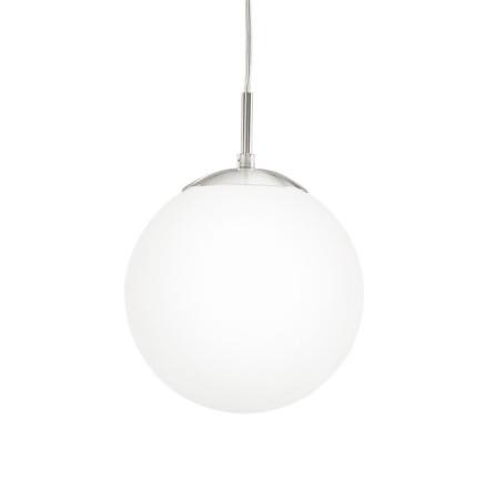 Lámpara colgante global, color blanco, de Fabrilamp