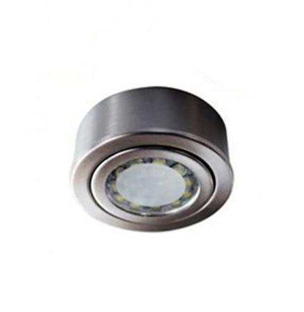 Aro redondo LED empotrable y de superficie, 3W, de GSC Evolution