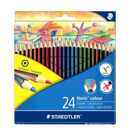 Estuche de 24 lápices de madera de Staedtler