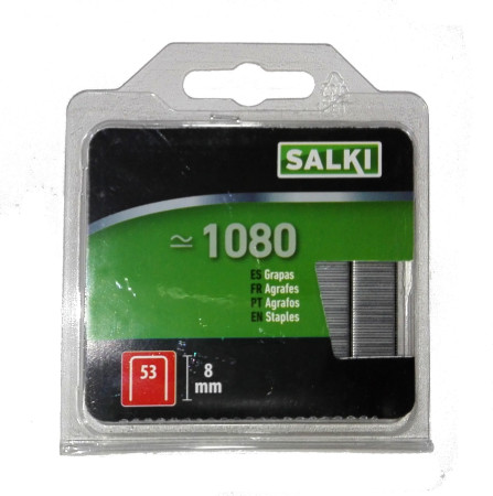 Grapas en blister 53/8 mm de Salki 86805308