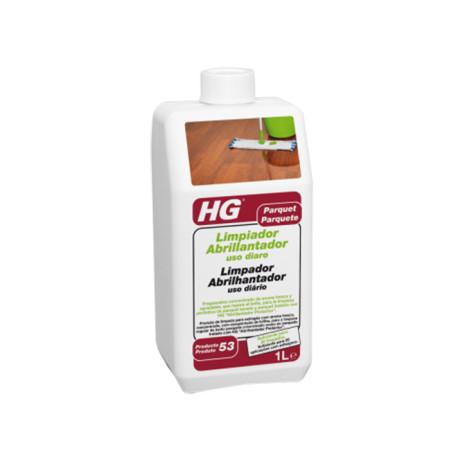 Limpiador y abrillantador de suelos de parquet de HG