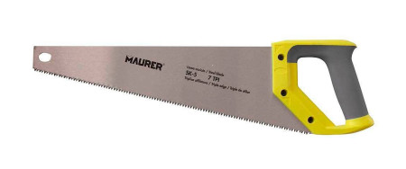 Serrucho carpintero bimaterial, 400 mm, Maurer 87244