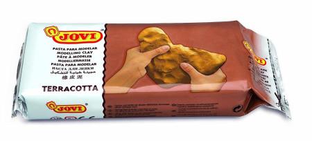 Pasta para modelar, color terracota, 1000 gr, Jovi