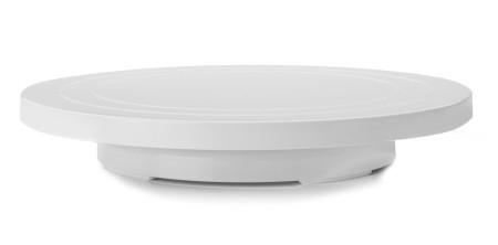 Base giratoria baja para tartas de plástico de Ibili