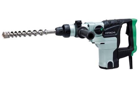 Martillo perforador con empuñadura auxiliar de Hitachi DH38MS