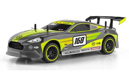 Coche ParkRacers, Super GT, escala 1/14, amarillo y gris,  Ninco 93095