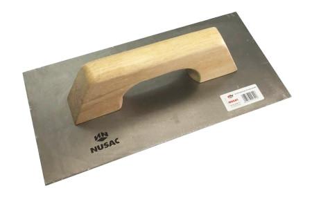 Llana de acero inoxidable, 300 x 150 mm, Nusac