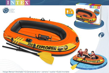 Bote hinchable Intex 58357