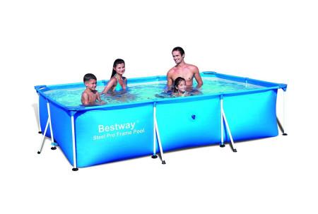 Piscina Deluxe Splash rectangular de Bestway