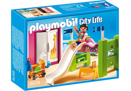 Playmobil 5579, dormitorio con litera, tobogán y más - Brico Reyes