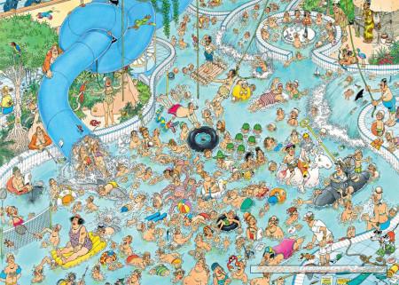 Puzzle de 3000 piezas Parque de Agua ilustrado por Jan Van Haasteren de Jumbo