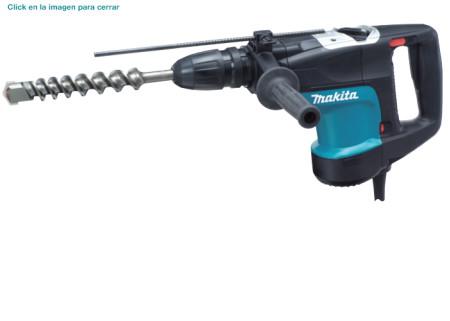 Martillo rotativo combinado de 1100 W de Makita HR4001C