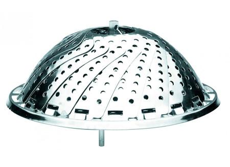 Cestillo de vapor plegable de acero inoxidable de Ibili