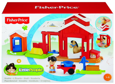 Establo little people de Fisher-Price, Mattel BFT86