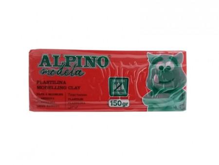 Plastilina modeling clay, 150 gr, diferentes colores de Alpino