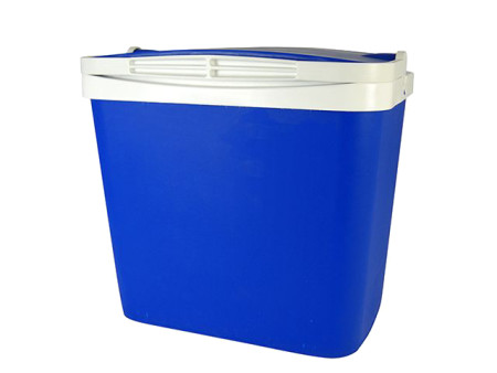 Nevera portátil rígida 29 L, polipropileno azul. Campos 29 litros